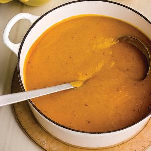 Суп пюре тыква со сливками