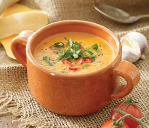 Готовим суп пюре из тыквы