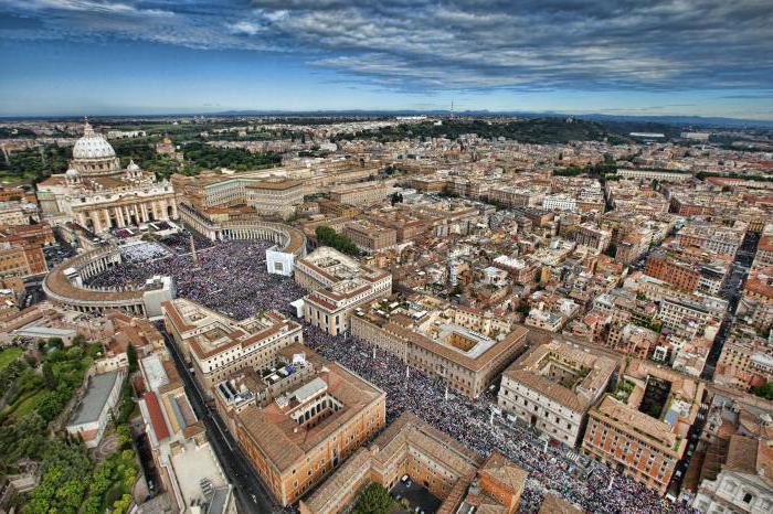 Ватикан где находится