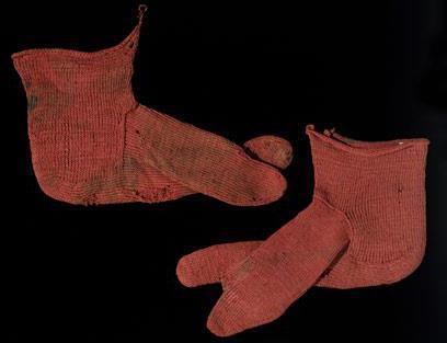 история вязания носков