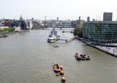 Темза в Лондоне