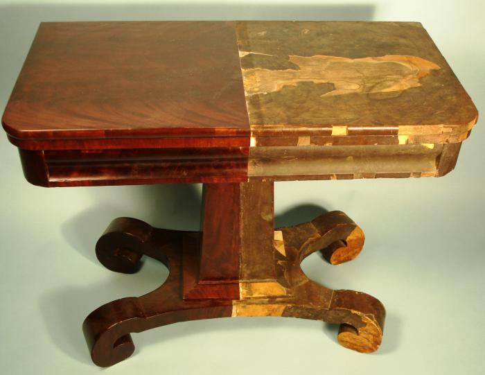 реставрация мебели своими руками фото