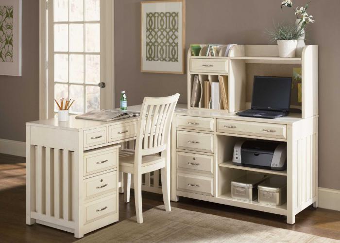 письменный стол белый глянцевый