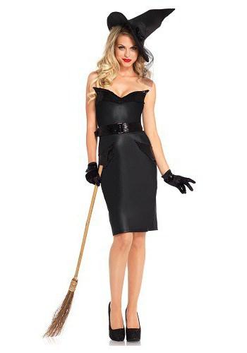 Как сделать своими руками костюм ведьмы на хэллоуин своими руками фото 659