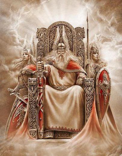 Древней Руси боги