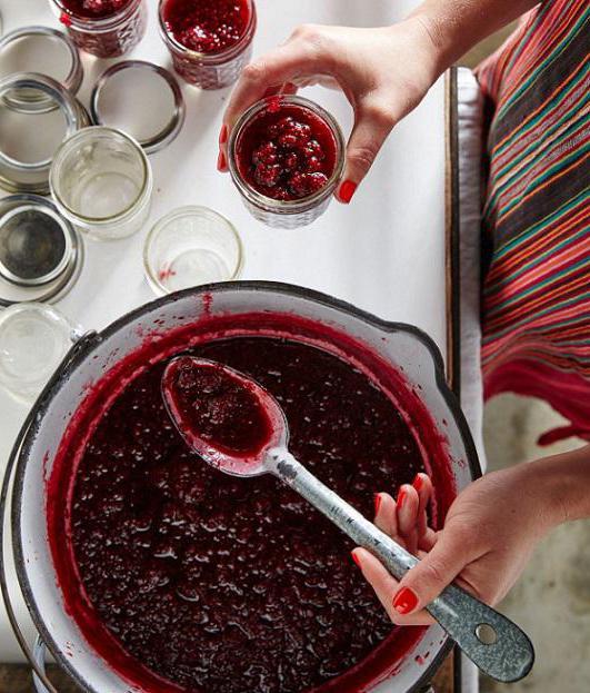 в чем варить варенье из смородины