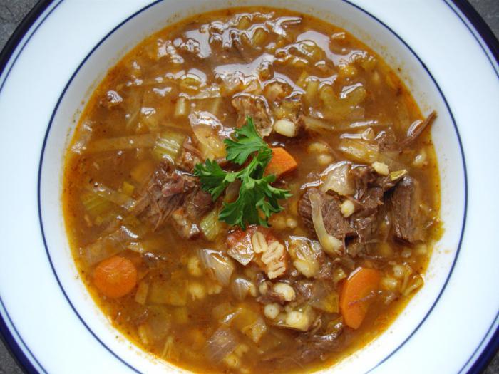 Суп харчо из перловки рецепт приготовления в домашних условиях 370