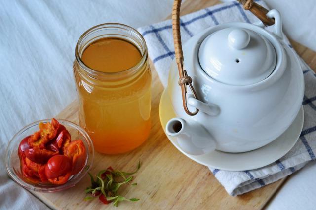 чай из шиповника для похудения отзывы