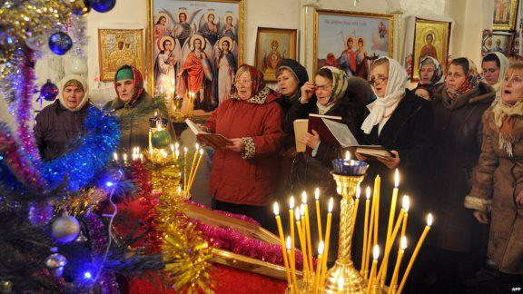 когда ходят в церковь на рождество