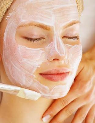 маска из сметаны для лица от морщин