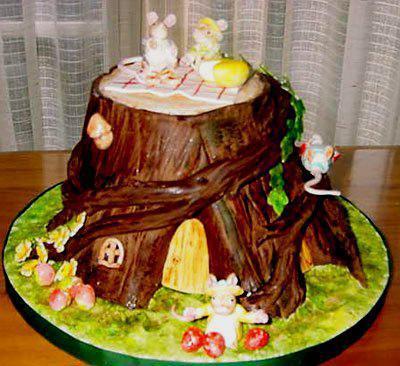 украшение торта своими руками в домашних условиях