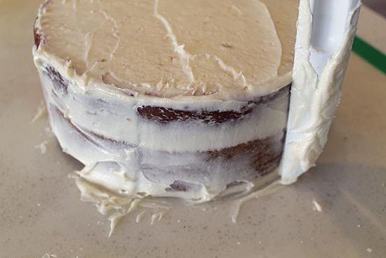 украшение торта своими руками в домашних условиях кремом