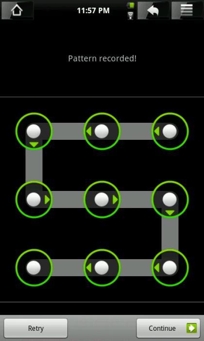 Как разблокировать графический ключ Fly
