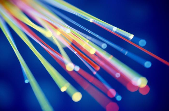 Оптоволоконный интернет кабель