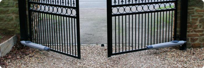 Автоматика для распашных ворот своими руками
