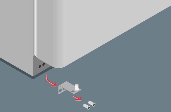 двери холодильников индезит