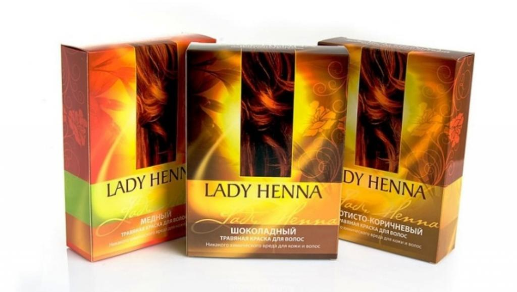 Свойства хны для волос. Описание и отзывы о хне «Леди Хенна»