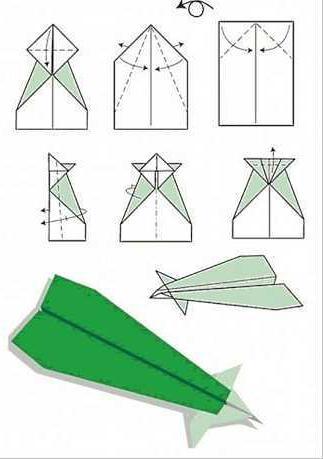 самолеты из бумаги схемы истребитель