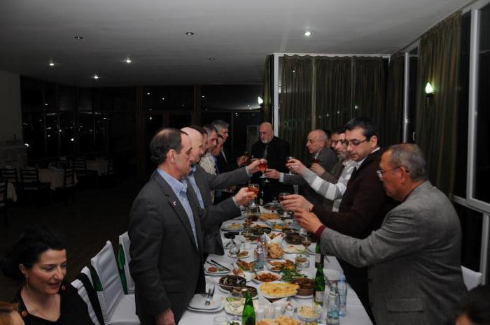 грузинский тост на юбилей