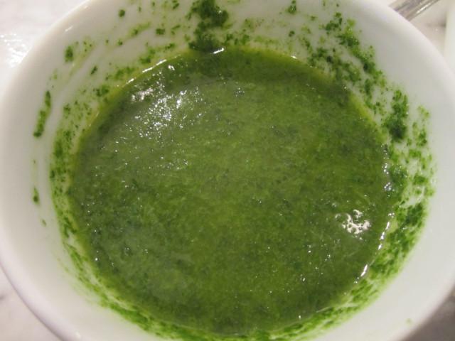 соус с зелёной фасолью