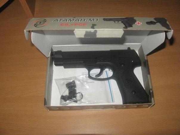 """Пистолет """"Атаман М1"""""""