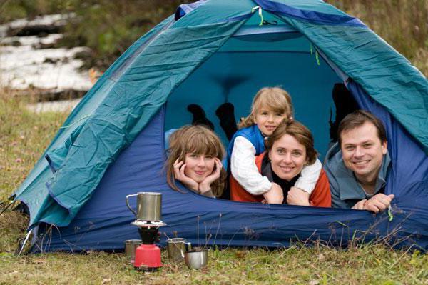 Обогрев палатки