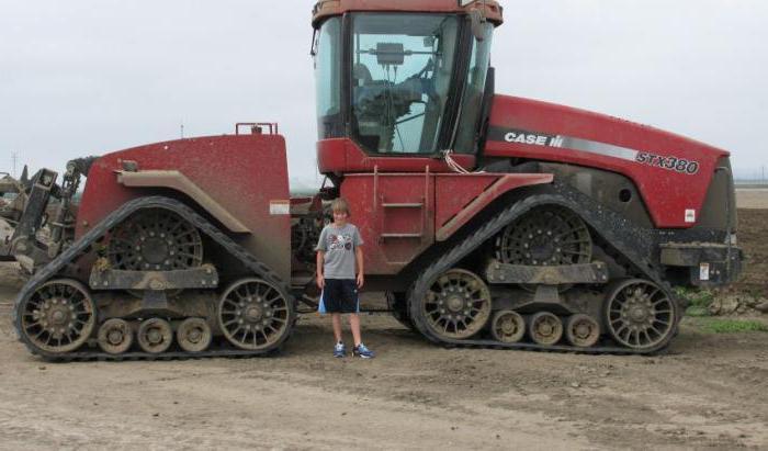 Гусеничный трактор: класс