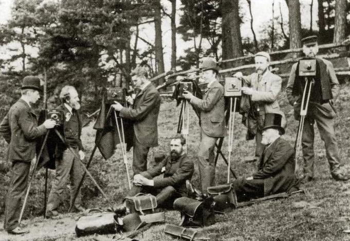 История фотоаппарата и фотографии