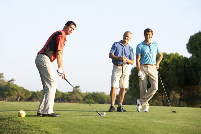Площадка для гольфа