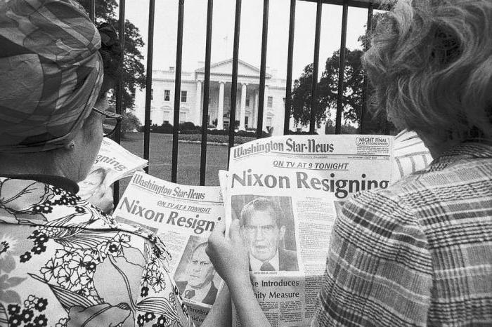 Уотергейтское дело в США 1974 г