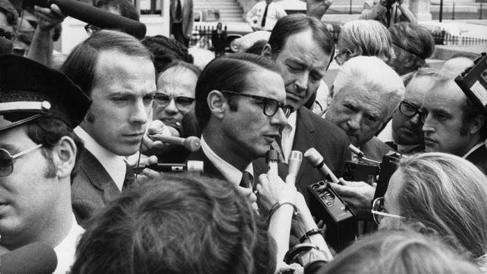 Уотергейтское дело и пресса