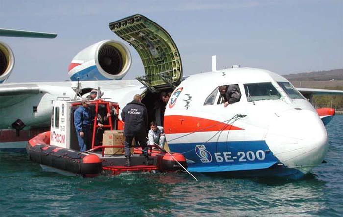 Самолет БЕ-200: фото