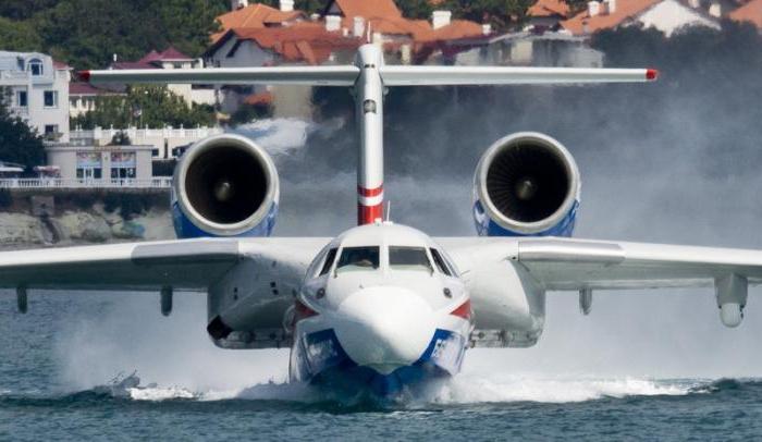 Пожарный самолет БЕ-200
