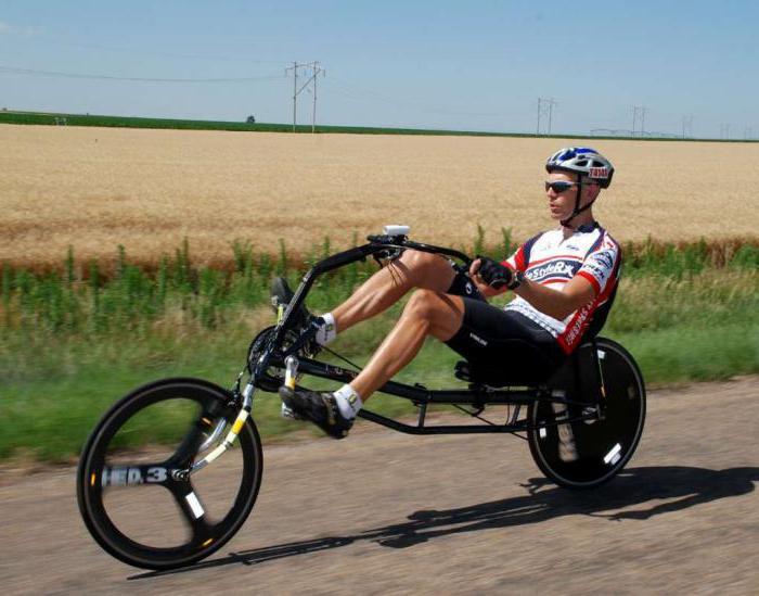 Лежачий велосипед своими руками