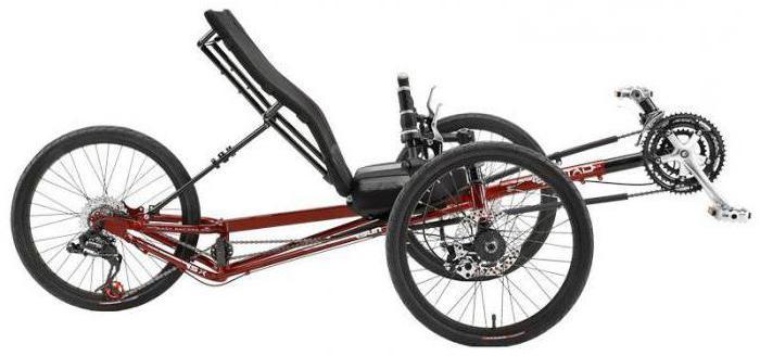 Лежачий велосипед: фото
