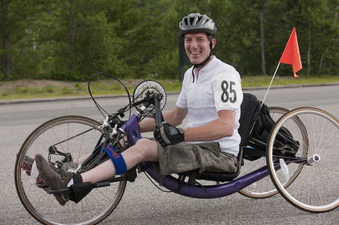 Лежачий трехколесные велосипеды