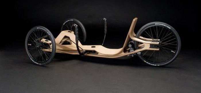 Первый лежачий велосипед
