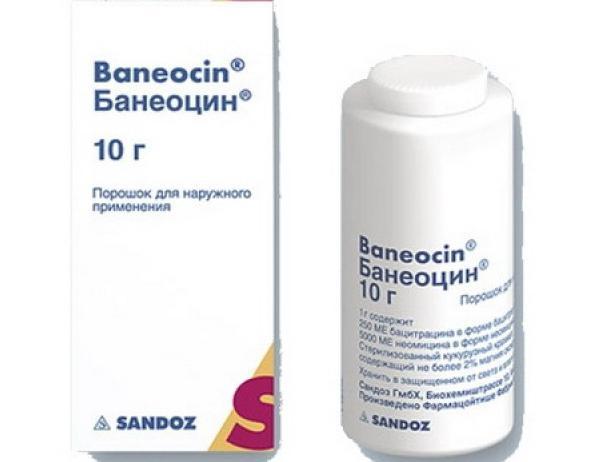 банеоцин порошок инструкция