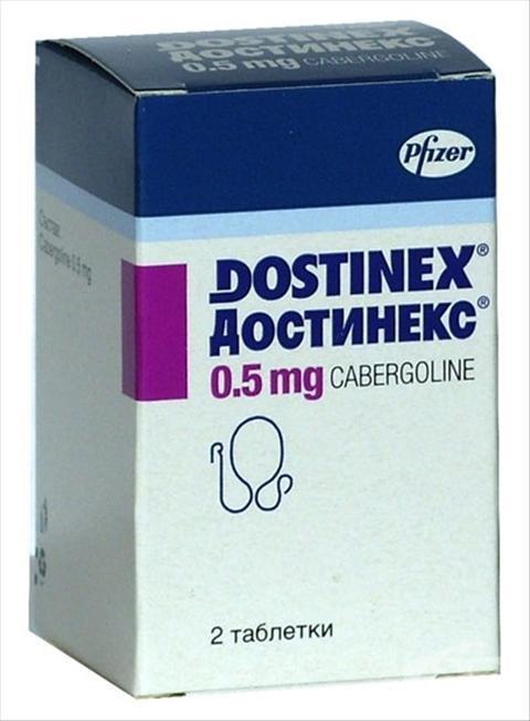 достинекс отзывы при повышенном пролактине