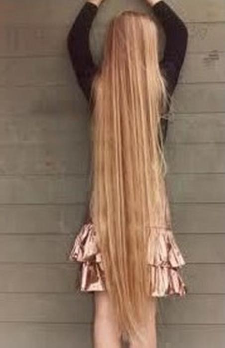 как за месяц отрастить волосы
