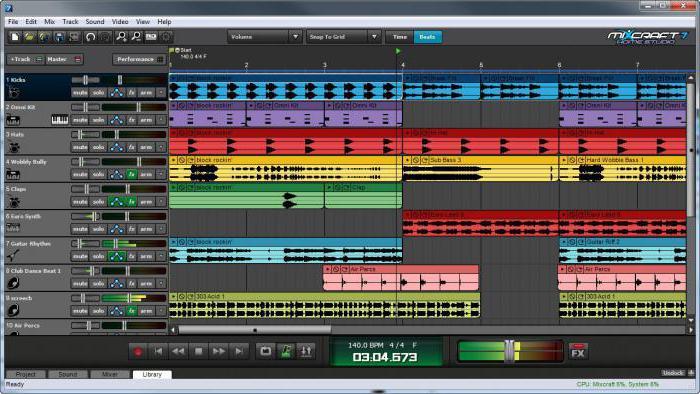 Программы для сведение треков