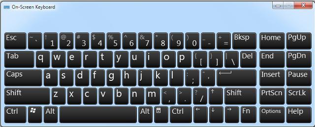 Как настроить виртуальную клавиатуру