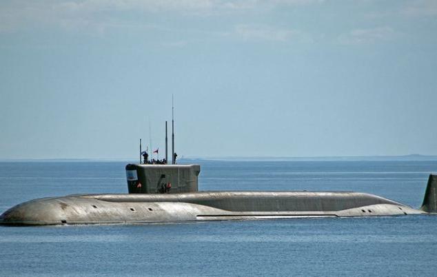 Атомная подводная лодка князь Олег |
