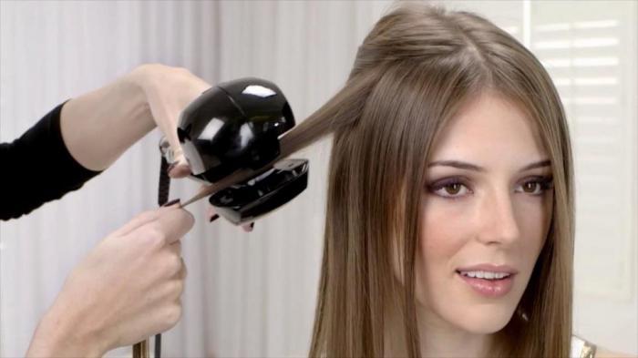 Прибор для волос кудри