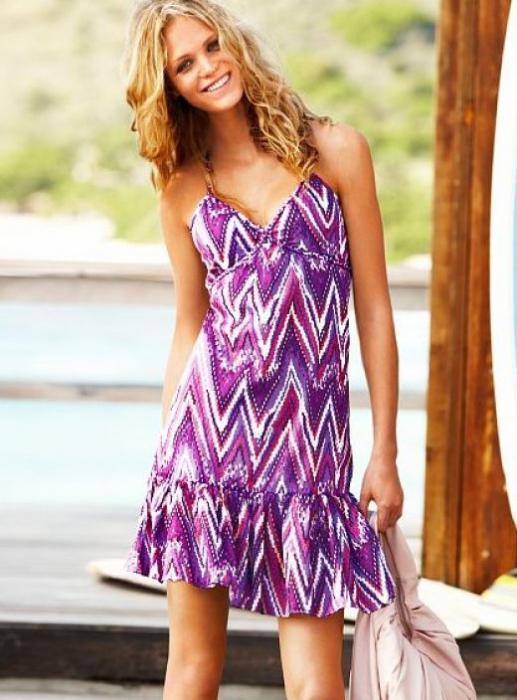 фасон летнего платья из штапеля