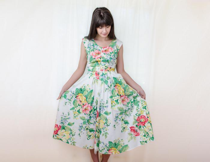 платья из штапеля фасоны фото