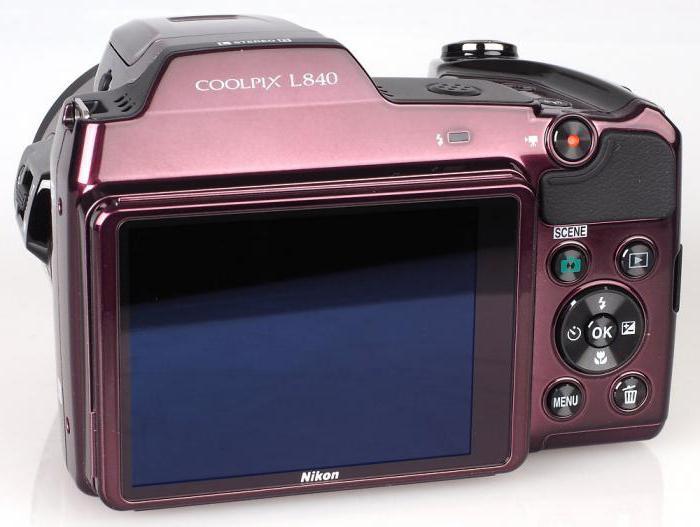 Цифровой фотоаппарат Nikon L840: технические характеристики, отзывы покупателей и профессионалов