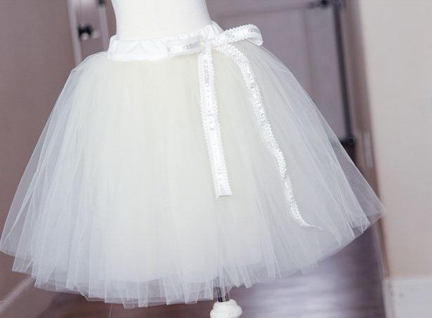Как сшить юбку из лент фатина