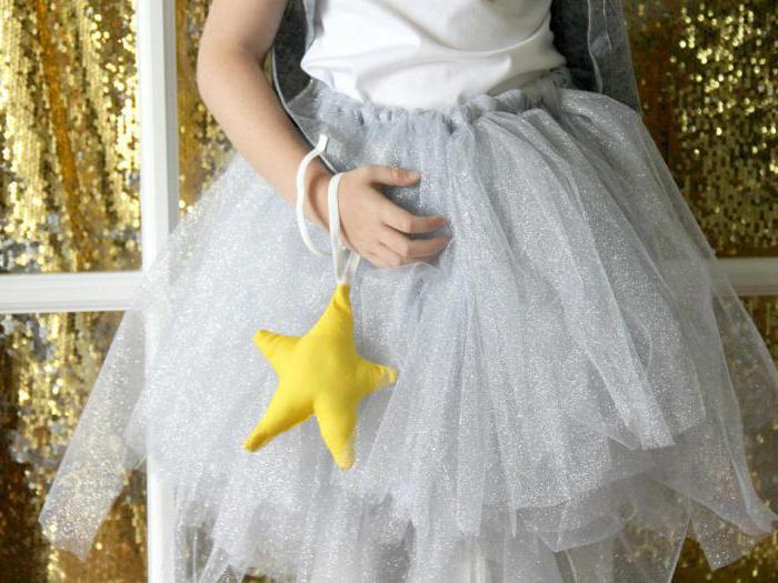 костюм звездочки для девочки на новый год