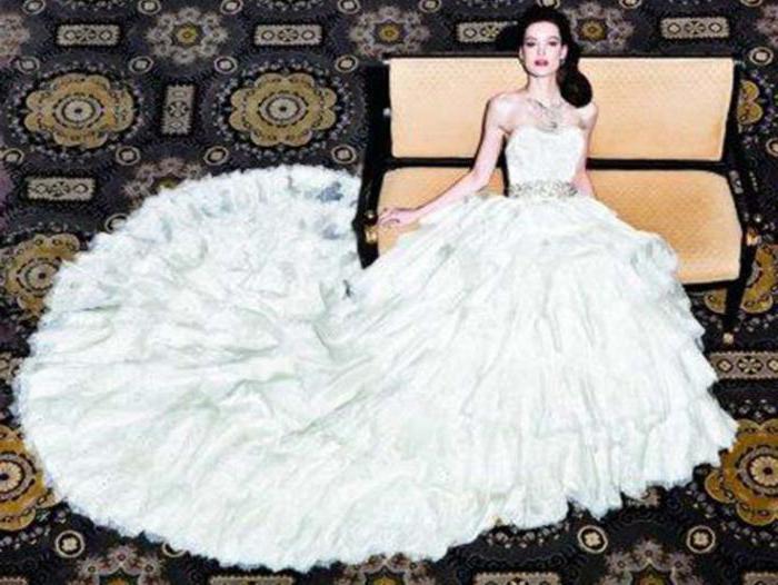 самые красивые пышные свадебные платья